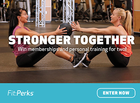 FitPerks Stronger Together Sweepstakes