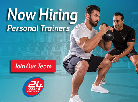 Now hiring personal training Ad