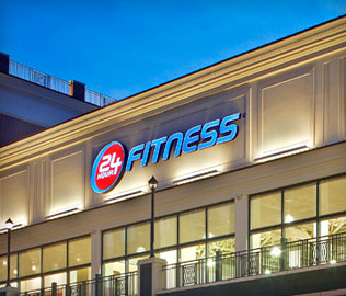 24 Hour Fitness Driving Directions