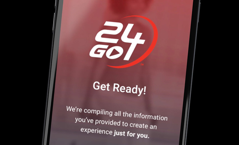 24GO Custom Workout App | 24 Hour Fitness