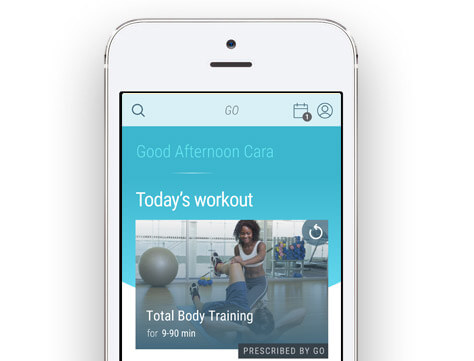 Personalized workouts image